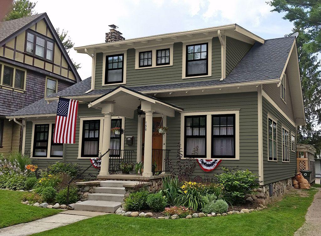 Exterior Paint Color Portfolio Archives Oldhouseguy Blog House Paint Exterior Craftsman Home Exterior Exterior House Paint Color Combinations