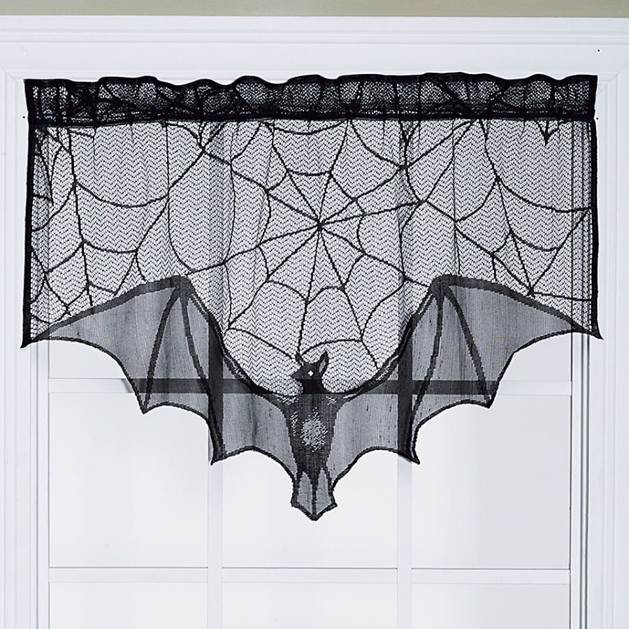 Magnetic bat curtain gifts clothing jewelry home for Decoracion hogar gotica