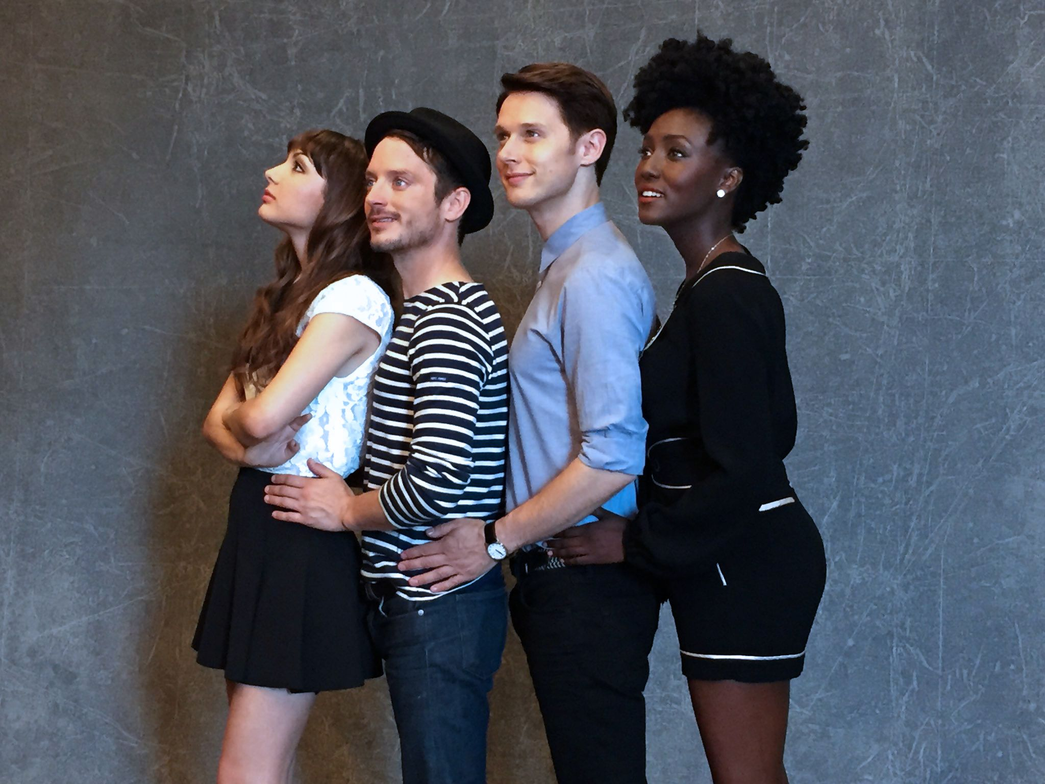 Dirk Gently's Holistic Detective Agency #photoshoot #cast