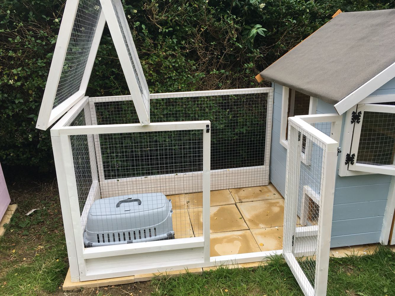 rabbit guinea pig boarding playhouse a hutch is not enough