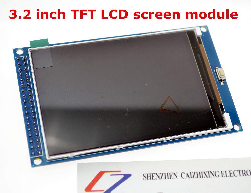 무료 배송! 3.2 인치 TFT LCD 화면 모듈 울트라 HD 320X480 아두 이노 메가 2560 R3 보드