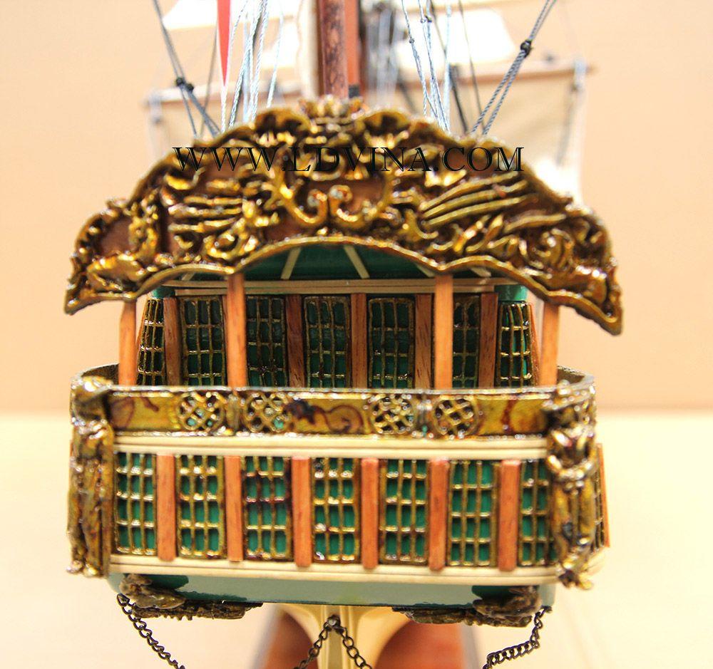 Norske Love Historic Ship Model