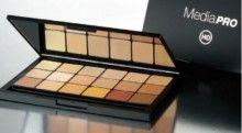 Ben Nye MediaPRO HD Concealer & Adjuster - 18-color Palette