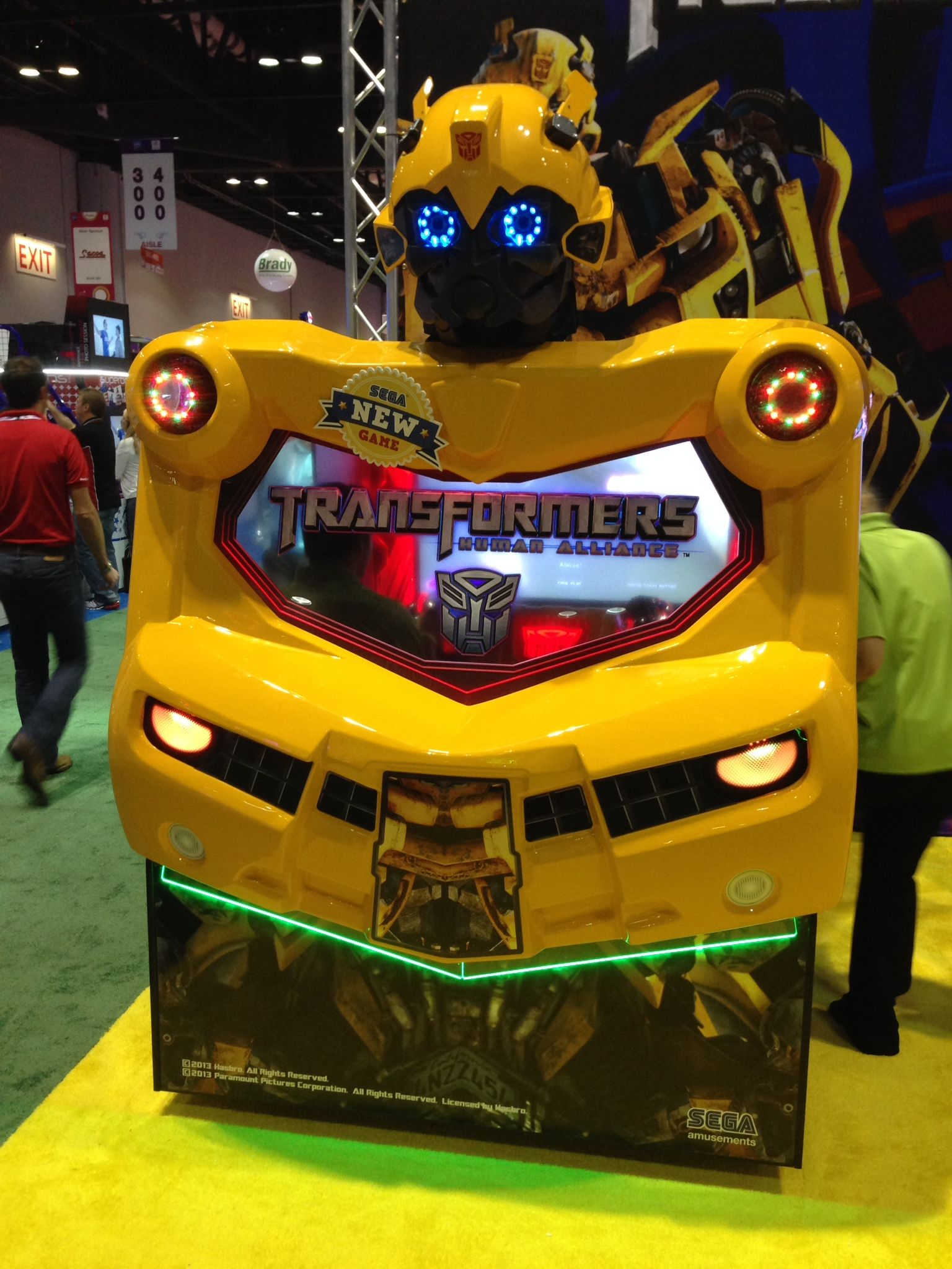 Check out this brand new Transformers game! Coming soon to