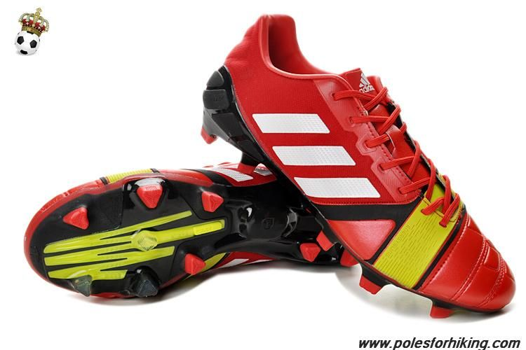 best website de6c2 30382 New Adidas Nitrocharge 3.0 (Red White Electricity) TRX FG Football Boots