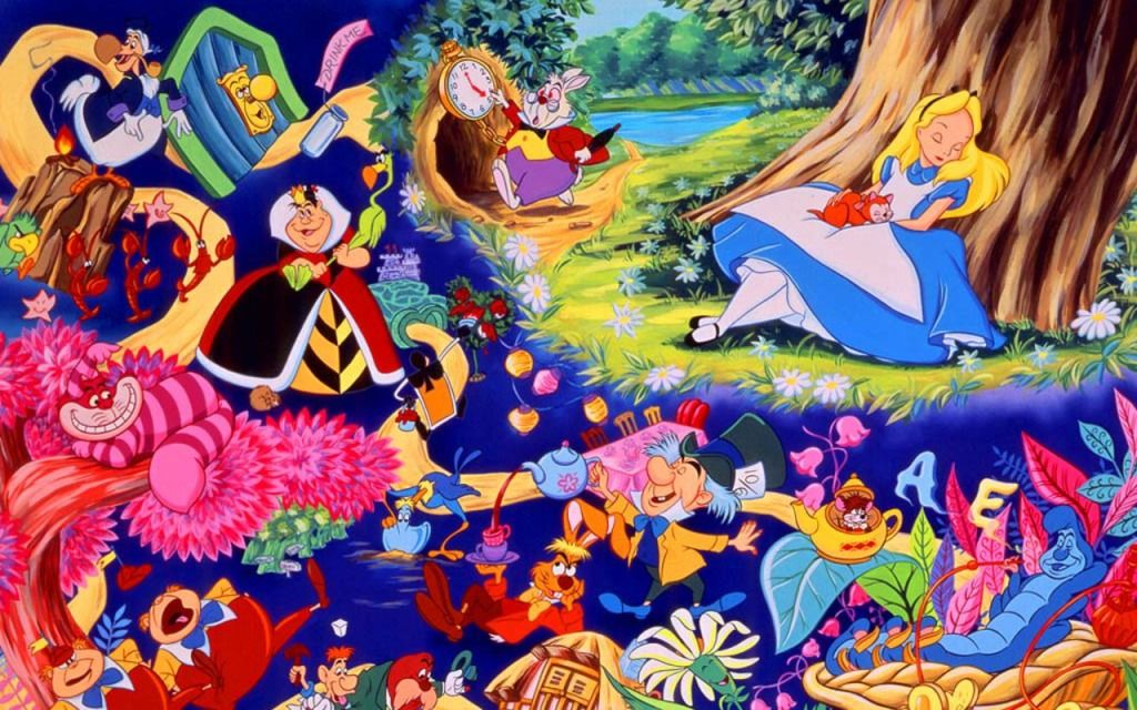Image result for alice in wonderland disney wallpaper ...