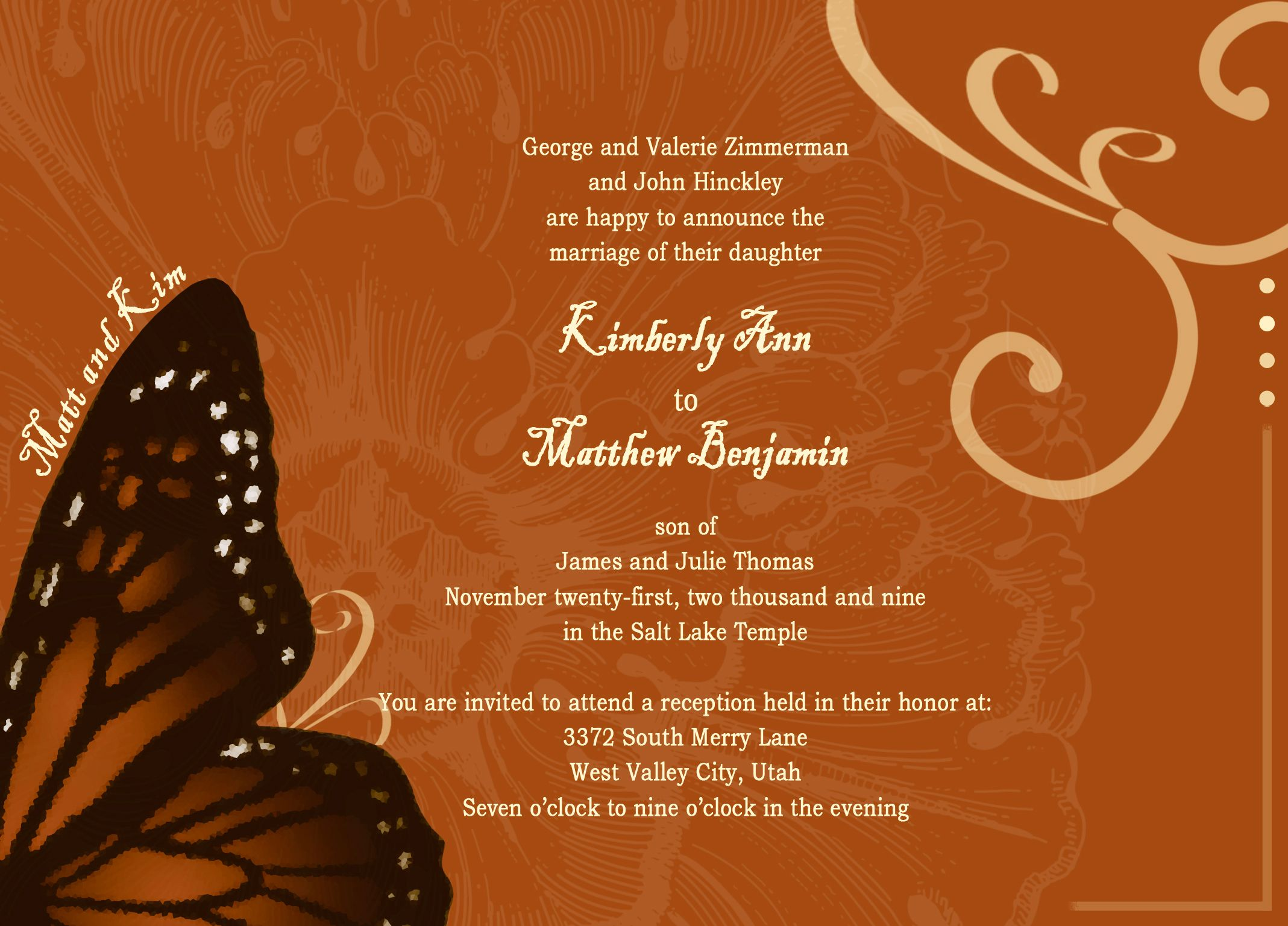 Best Marriage Invitation Card Design Personal Wedding