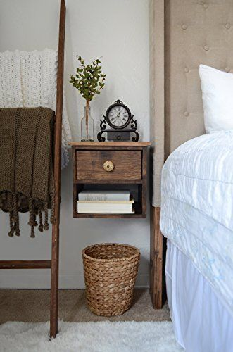 50+ Farmhouse Nightstands and Rustic Nightstands - Farmhouse Goals