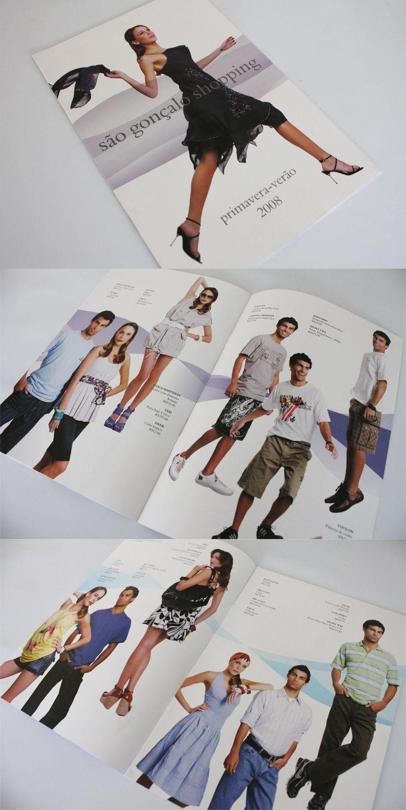 Catálogo de moda para o São Gonçalo Shopping.