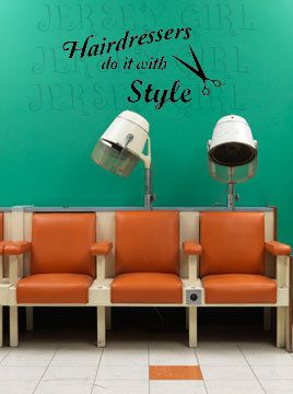 Hairdressers do it with style