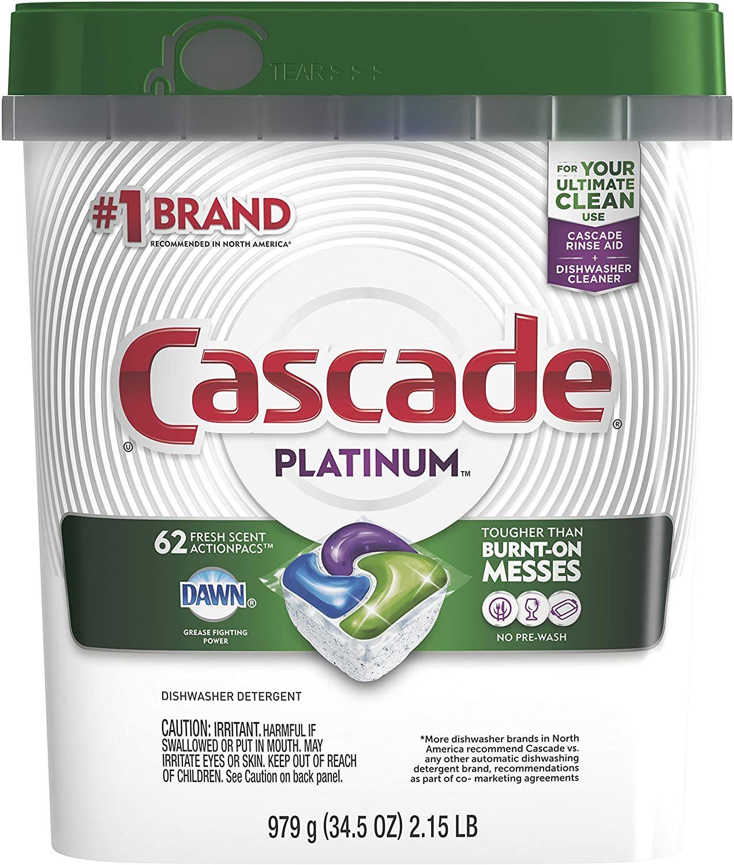 Best Dishwasher Detergent For Bosch Cascade Platinum Dishwasher Detergent Dishwasher Pods Best Dishwasher Detergent