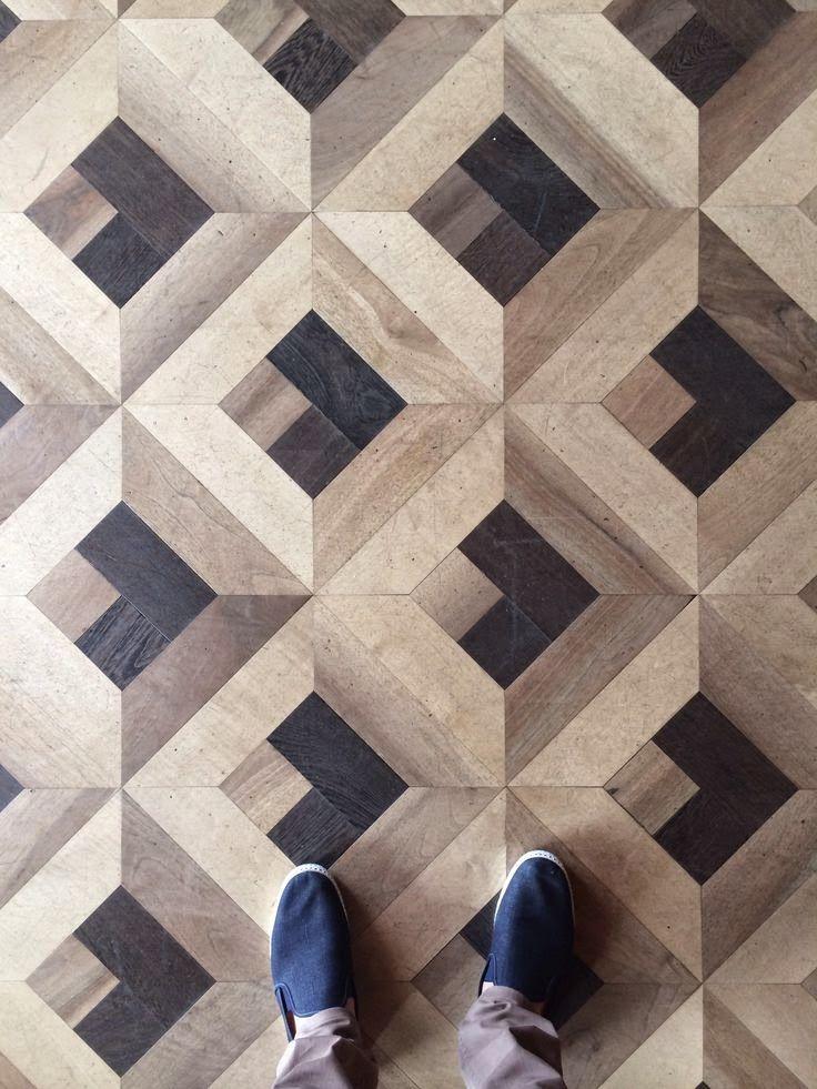 Geometric Parquet Wood Floor Floor Patterns Wood Floor Pattern