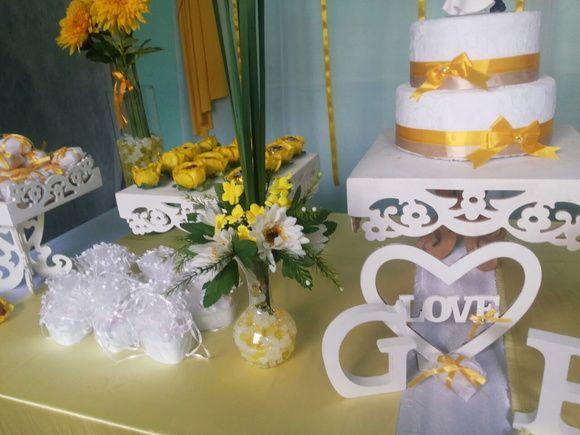 Decoração Casamento Simples - Paula