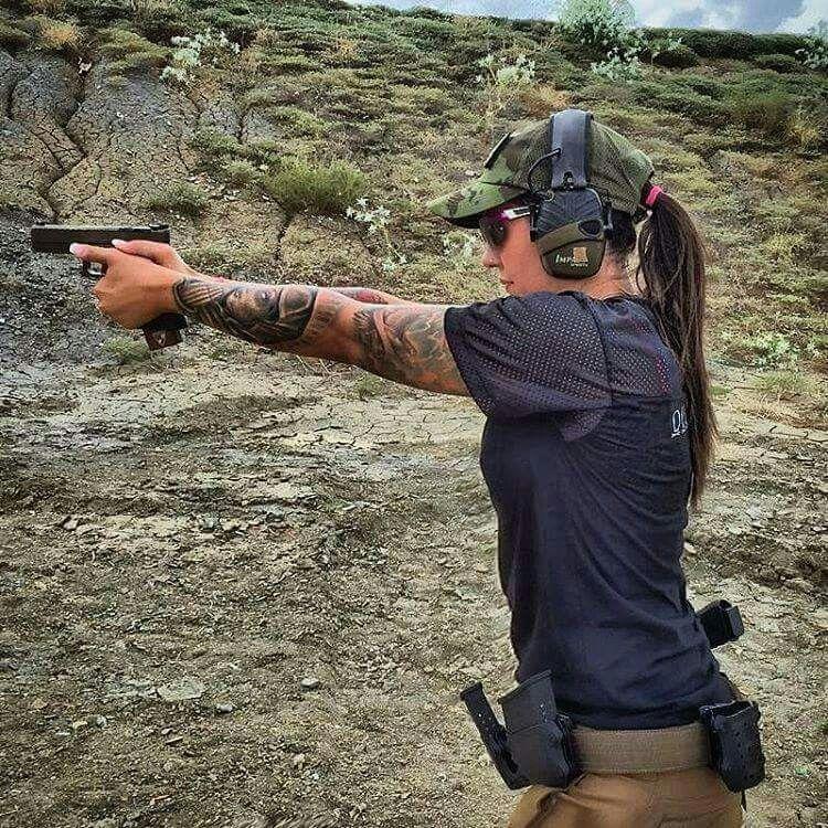proper shooting form weapons pinterest guns girl