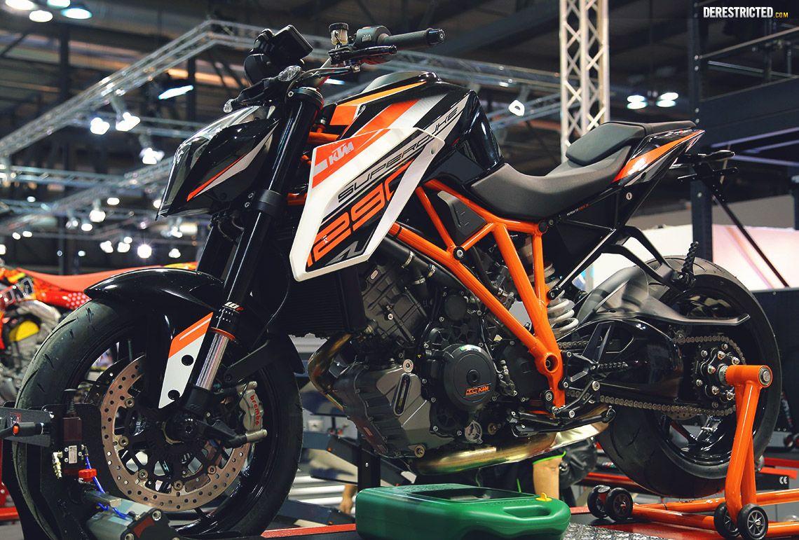 Ktm 1290 Superduke R Powerparts Bike At Eicma Featured Derestricted Ktm Ktm Super Duke Bike