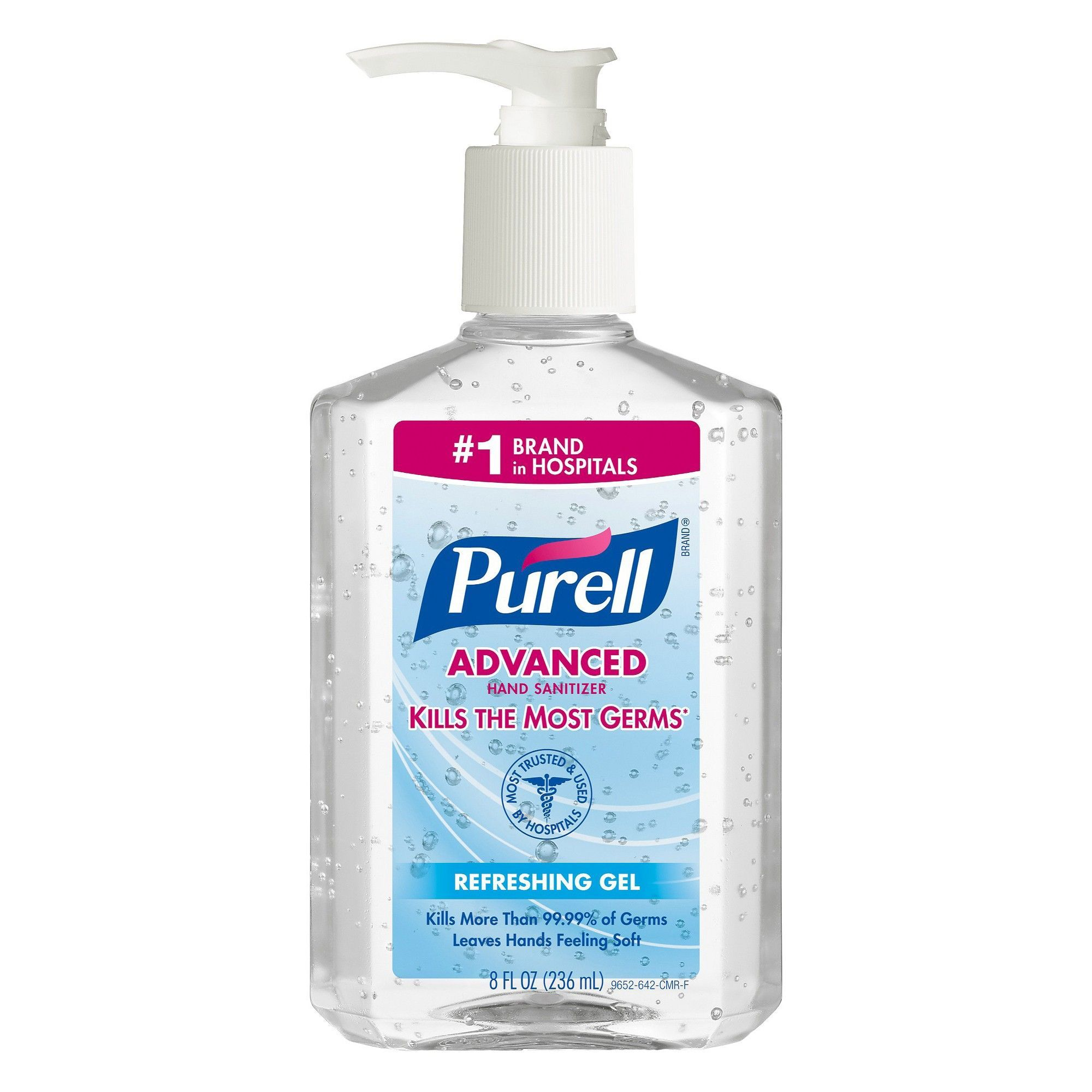 Purell Hand Sanitizer 8oz Hand Sanitizer Fragrance Free