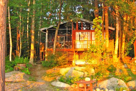 Check out this awesome listing on Airbnb: Cozy Island Cottage in Frye Island