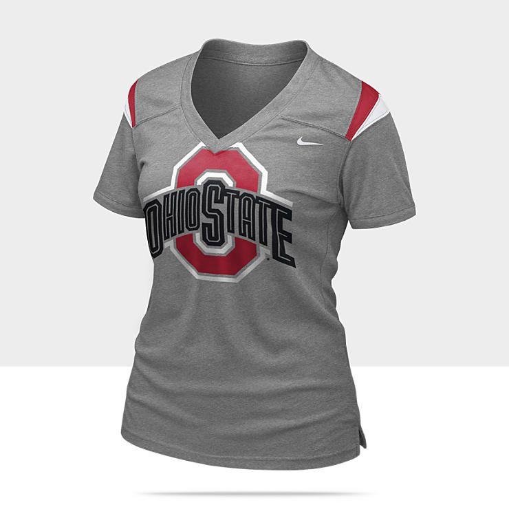 Nike football replica ohio state womens tshirt small