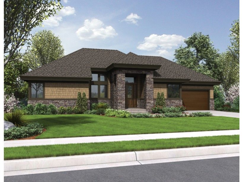 Eplans contemporary modern house plan contemporary hillside design with large game room 3097