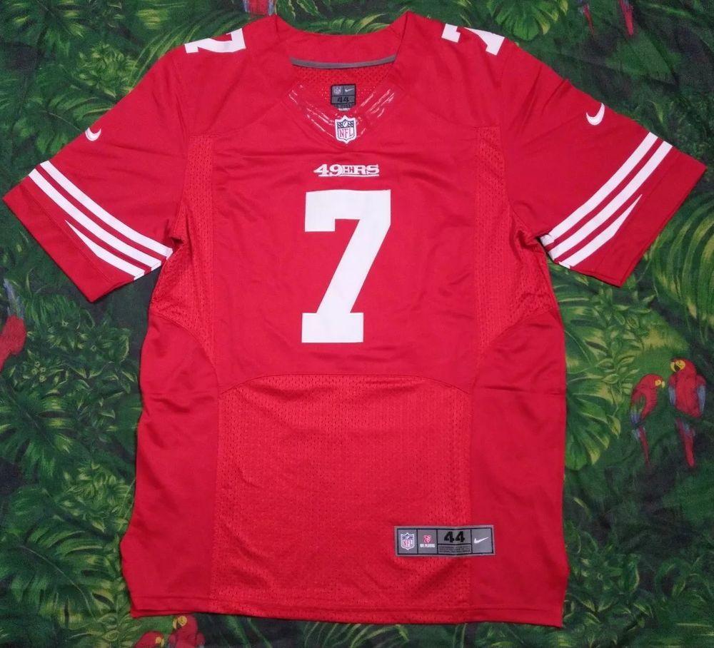 reputable site 0dcdc 96cb1 Colin Kaepernick San Francisco 49ers Nike NFL On Field ...