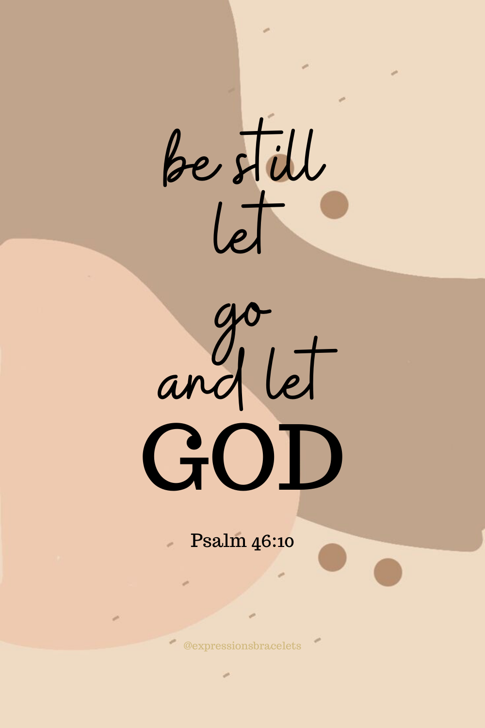 Let God take your weakness and give you His streng