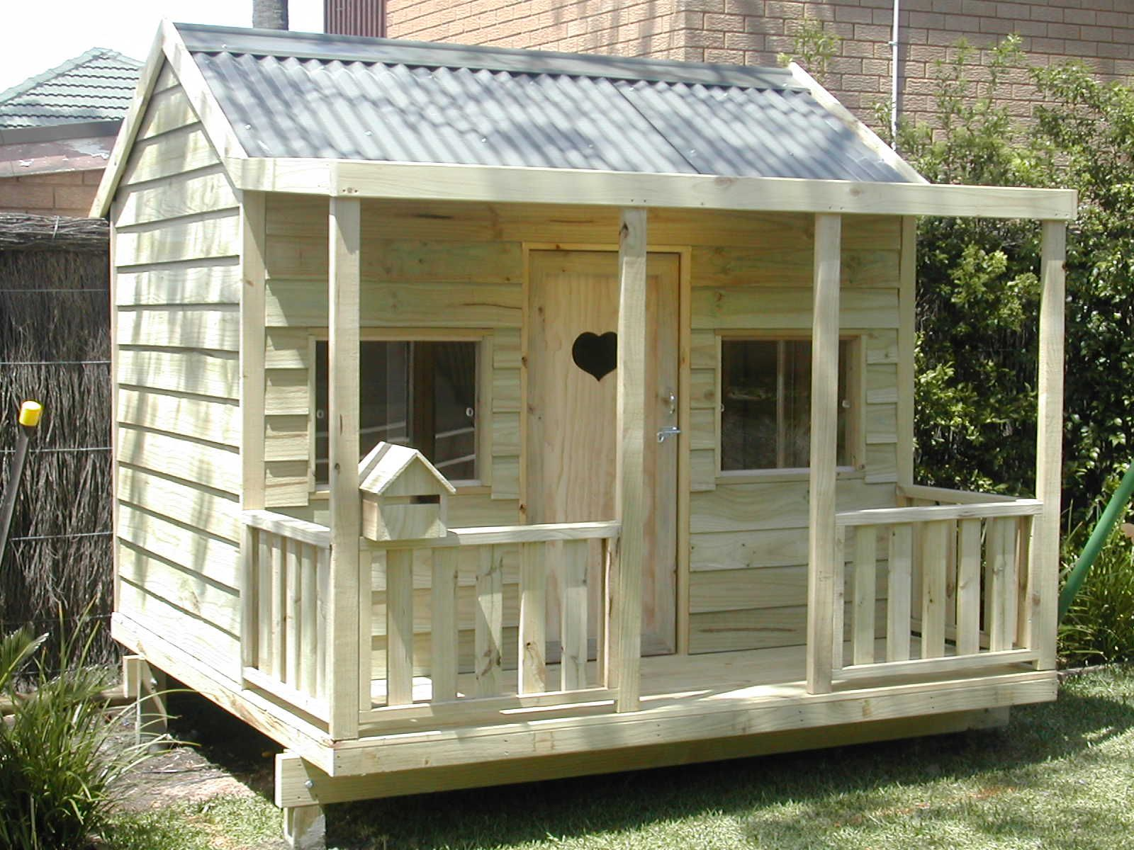Diy Cubby House Plans Australia Home Design Style