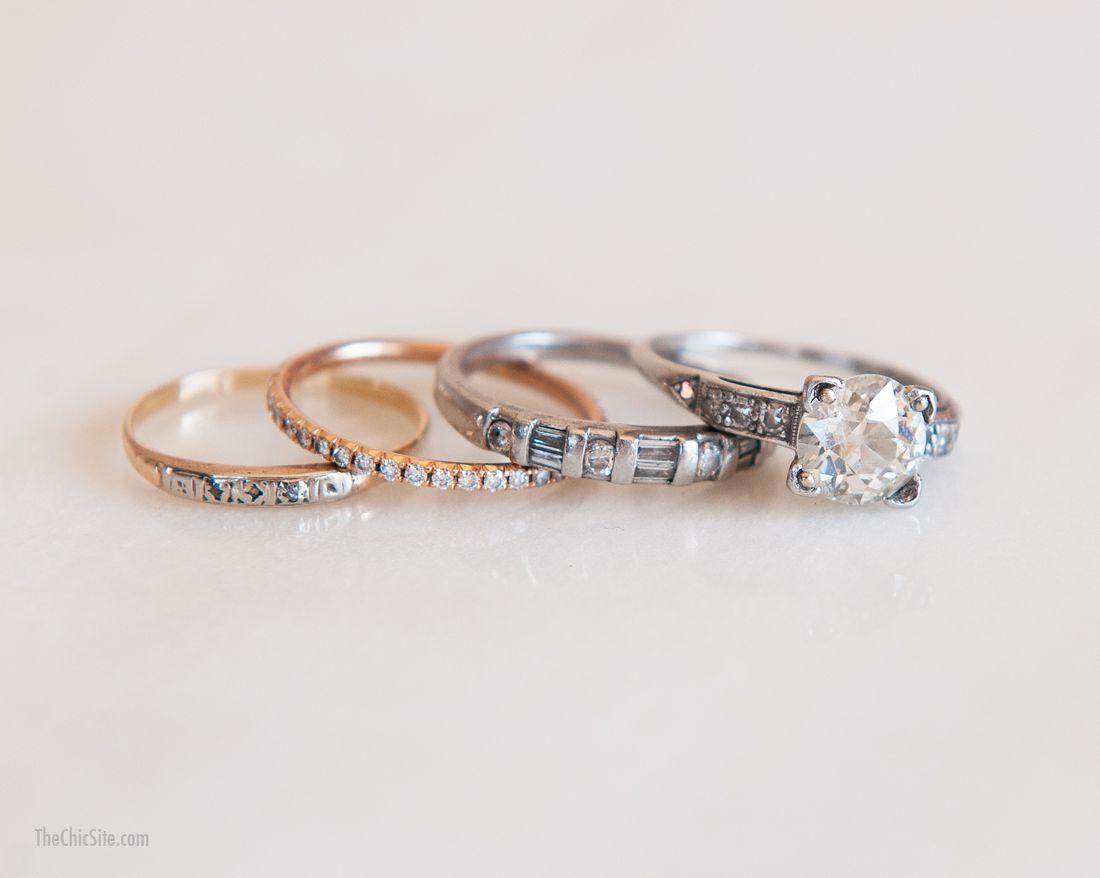 My Rings Rachel Hollis Cool Wedding Rings Antique Style Rings Wedding Rings Vintage