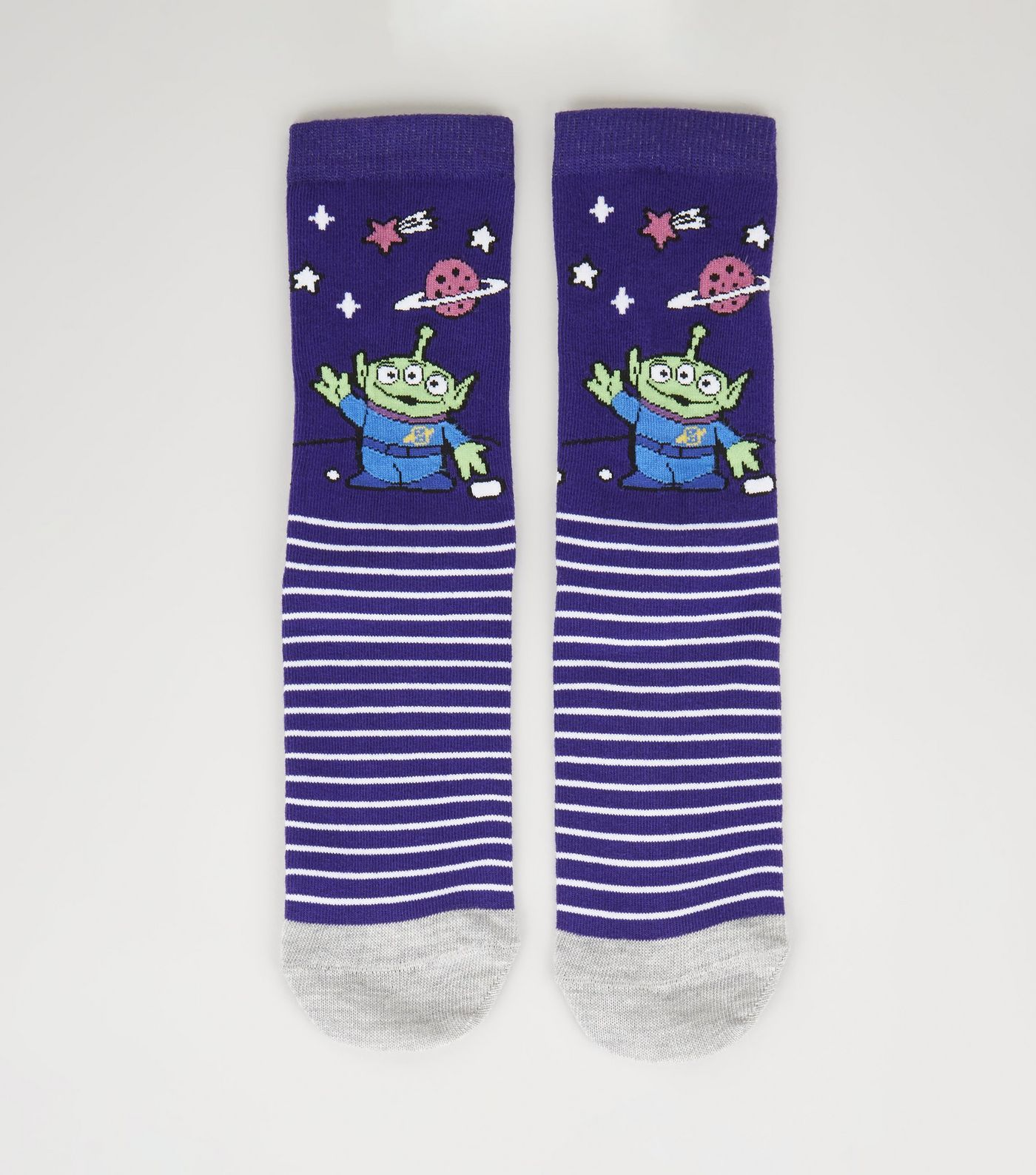 72f35bbfa Purple Toy Story Alien Socks in 2019 | Accessories and Shoes | Toy ...
