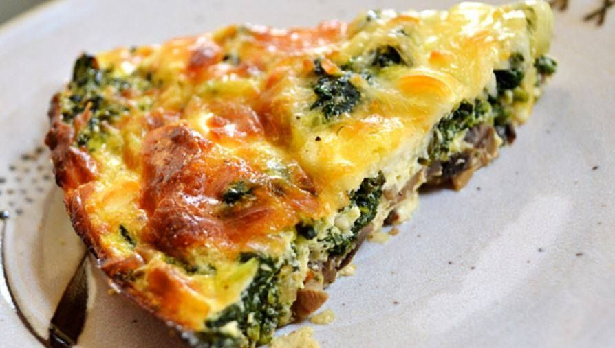 Crustless spinach onion and feta quiche http24recipesperday number of servings 6 ingredients 1 medium onion diced 6 ounces fresh express baby spinach 2 large eggs cup egg beaters liquid substitute cup all purpose forumfinder Image collections