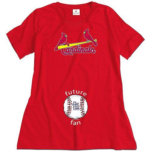 5e4fbe00 St. Louis Cardinals Future Fan Maternity T-shirt by Soft As A Grape ...