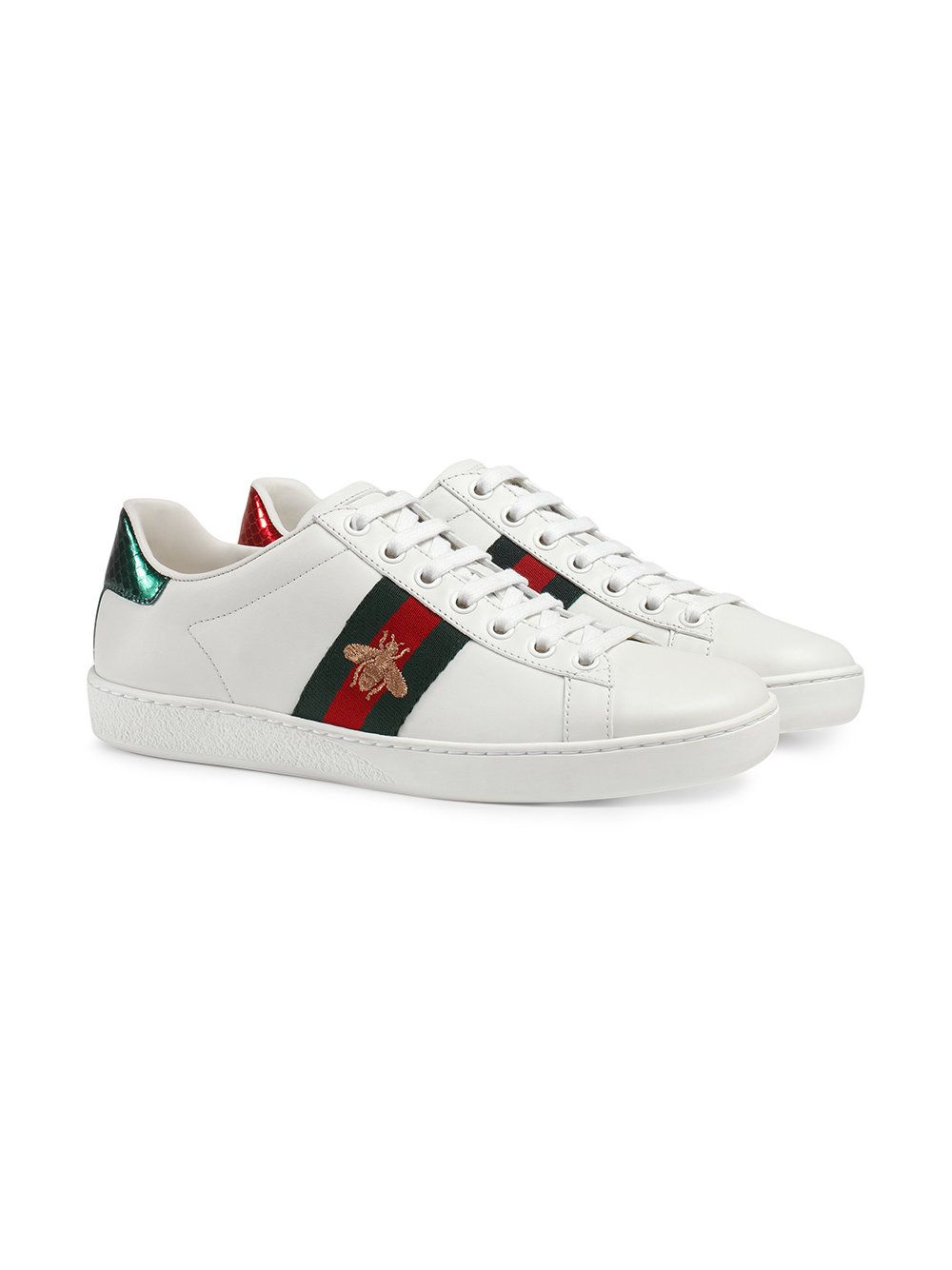 2aa60adb4aa Gucci Ace Embroidered low-top Sneaker