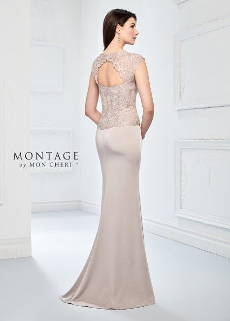 Photo of Montage by Mon Cheri 218915 Cap Sleeves Formal Dress