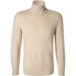 Photo of roberto collina turtleneck sweater men, merino wool, beige Roberto Collina
