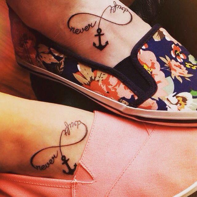 Best friend matching tattoos \