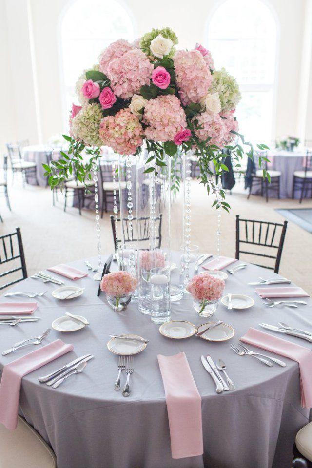 boda en tonos rosa y gris | decoraciones de fiestas | pinterest