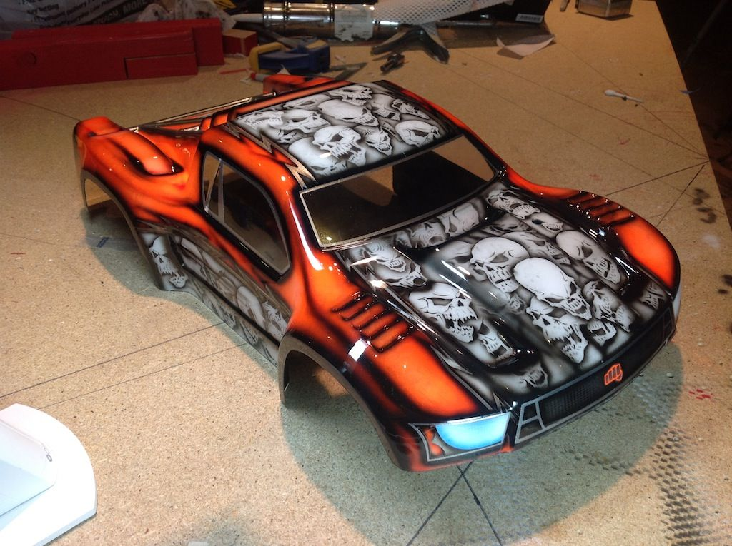 Best Airbrush Paint For Rc Car Bodies