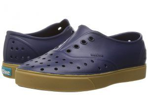 Native Kids Shoes Miller with Gum Rubber Regatta Blue/Gum Rubber Girls
