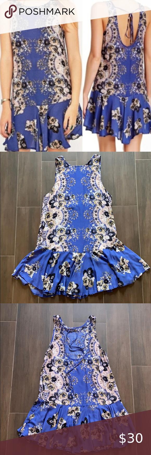 Free People Intimately Printed Slip Dress