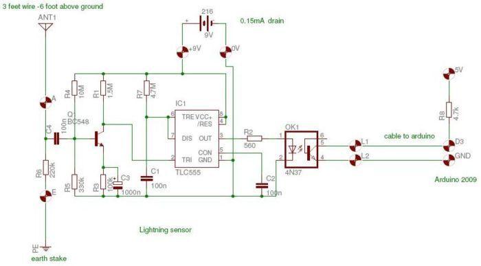 Awe Inspiring Lightning Detector Arduino Forum Arduino Raspberry Pi Adafruit Wiring Database Rimengelartorg