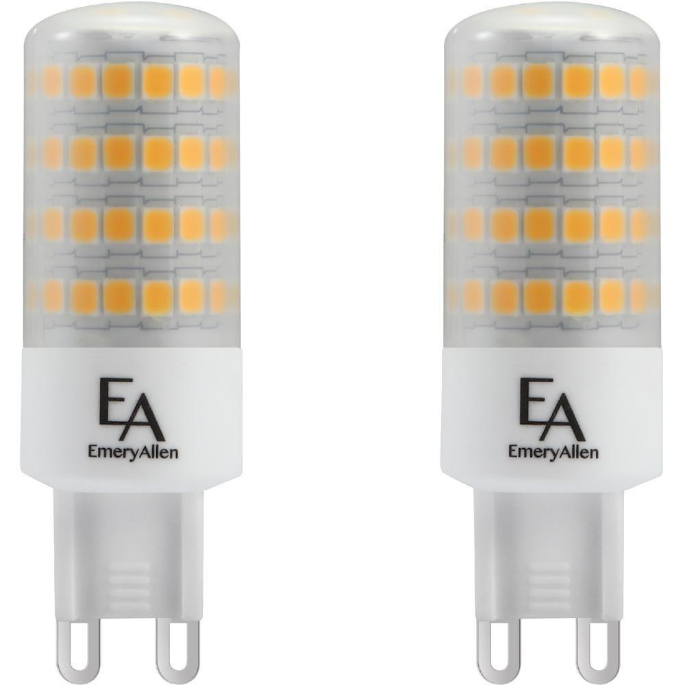 60 Watt Equivalent G9 Base Dimmable 3000k Led Light Bulb Soft White 2 Pack Led Light Bulb Outdoor Light Bulbs Energy Efficient Bulbs