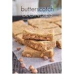 Butterscotch Blondies