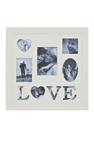 Buy Cream Love Collage Frame from the Next UK online shop | Love ...