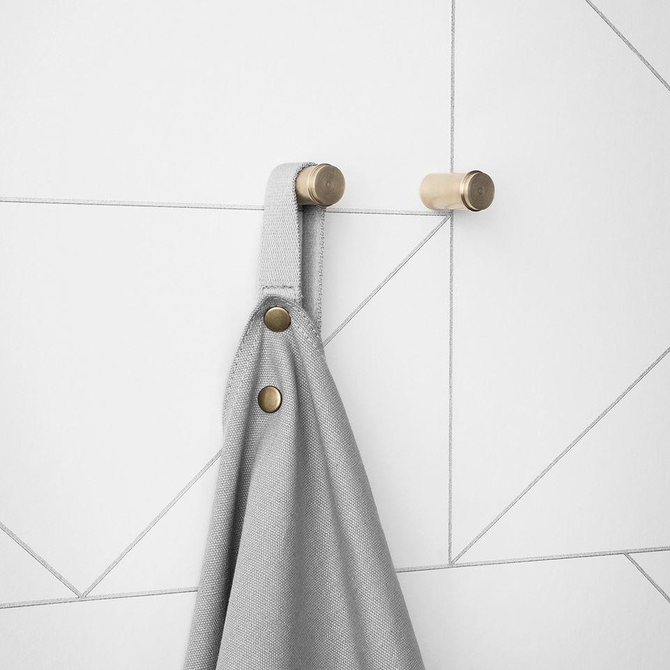 Die Messing Wandhaken bringen Glanz in Ihr Zuhause: Die Hooks sind ...
