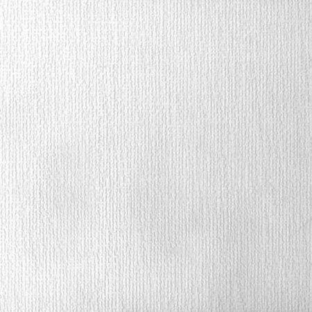 Hessian Burlap Texture Paintable Wallpaper, White