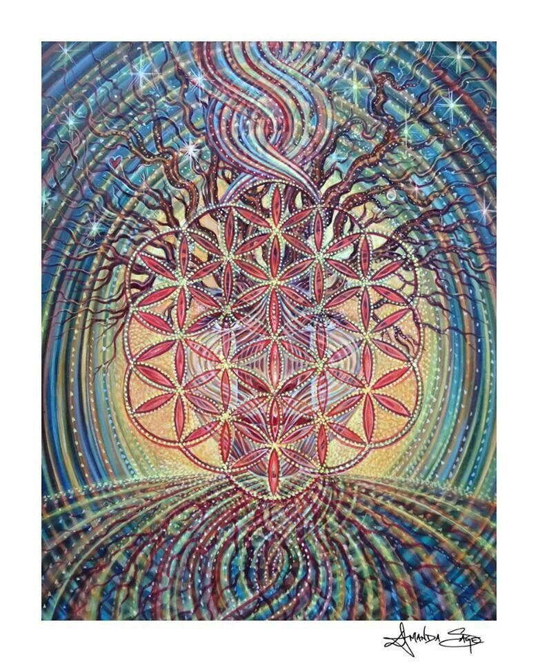 Painting by Amanda Sage, love! <3 | Visionary Art- Epic