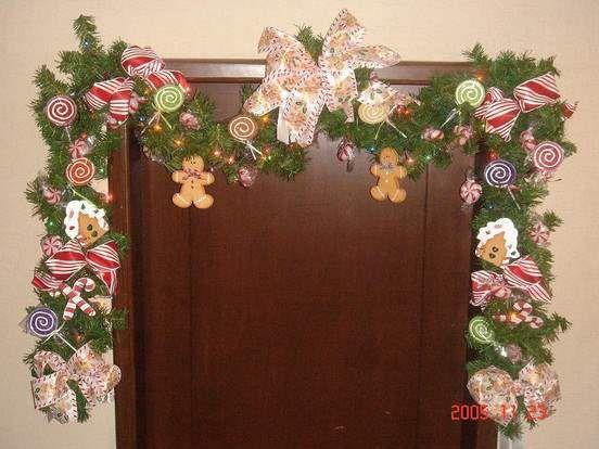 Resultado de imagen para decoraciones navideñas para escaleras - decoracion navidea para exteriores de casas