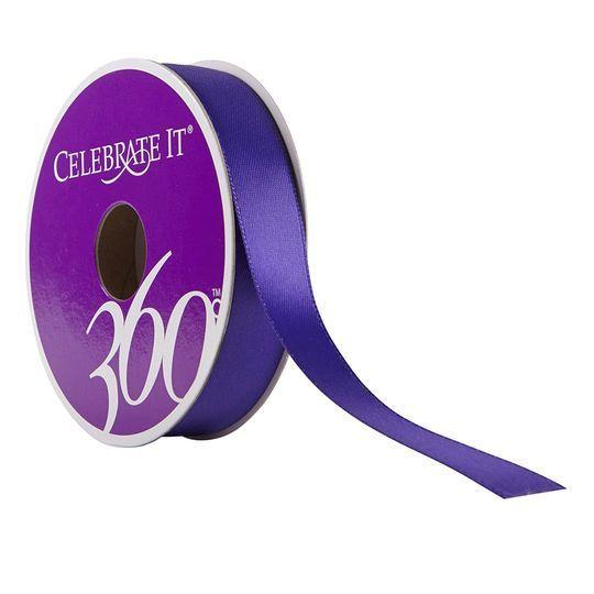 "Celebrate It® 360°™ Satin Ribbon, 5/8"""
