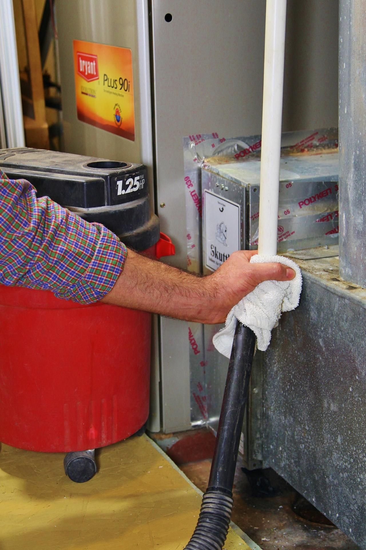how to clean outside ac unit coils