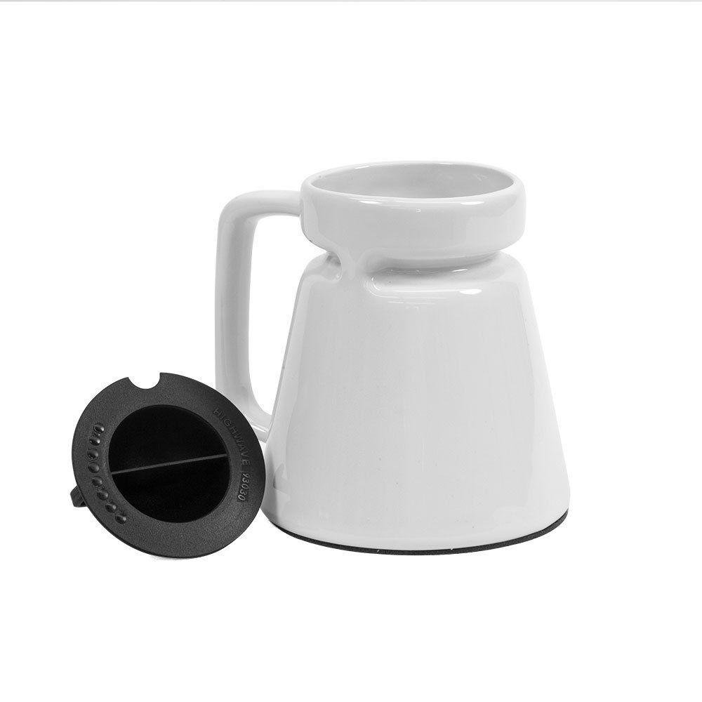 bottom coffee travel mug wide