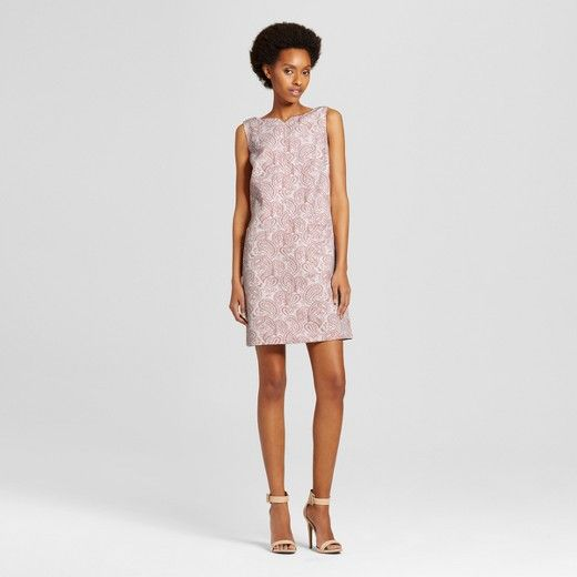Womens Floral Jacquard Dress Victoria Beckham